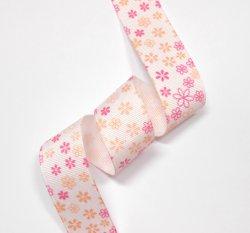 画像1: ピンクの濃淡小花模様